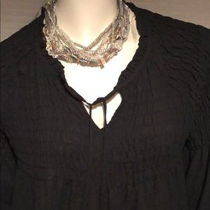 a.n.a Tops - Black blouse with detail